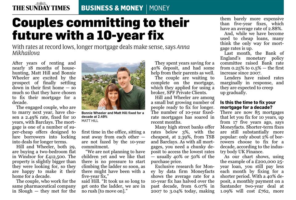Sunday Times - 10 yr fix - Dec 2017